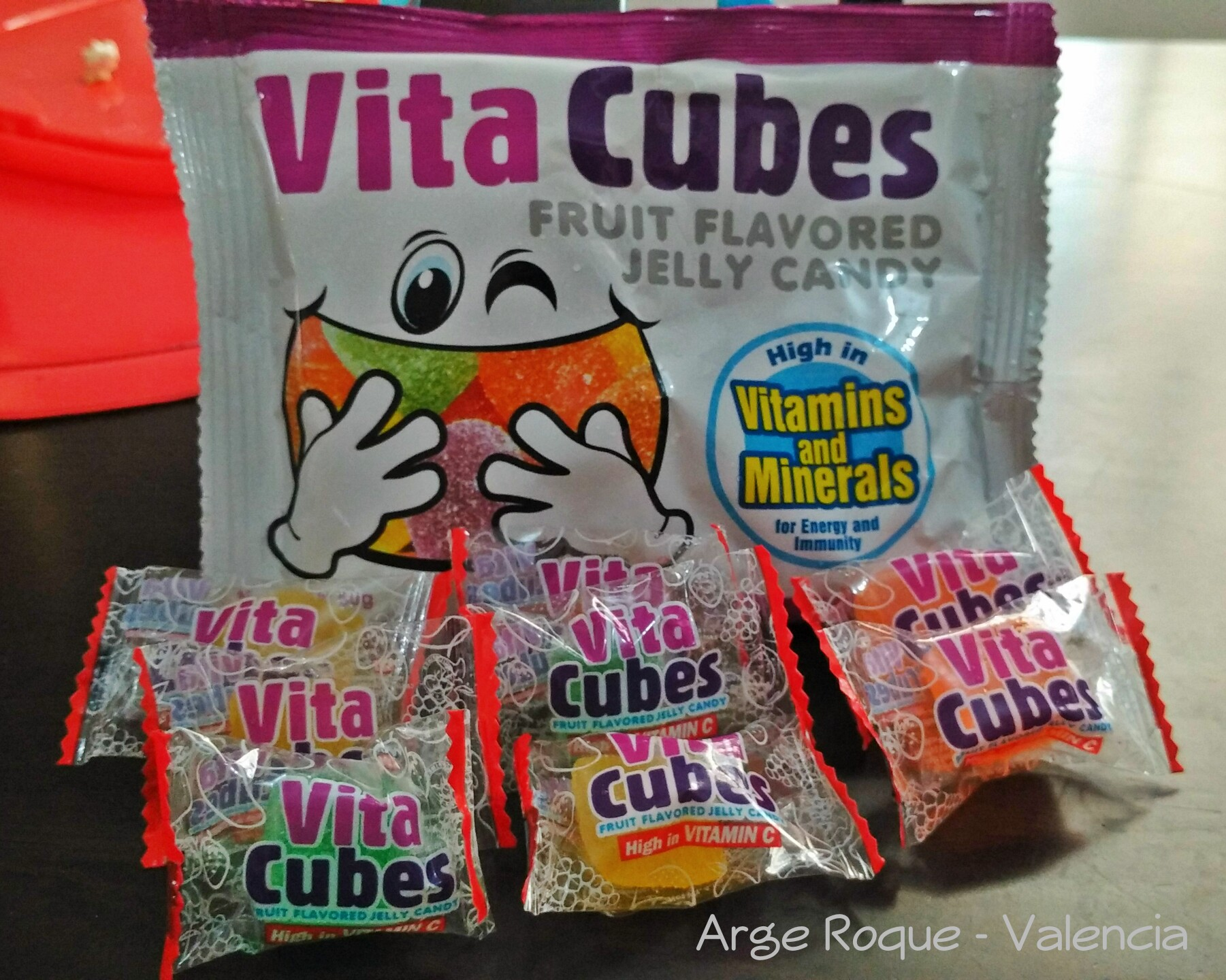 Vita Cubes Fruit Flavored Jelly Candies