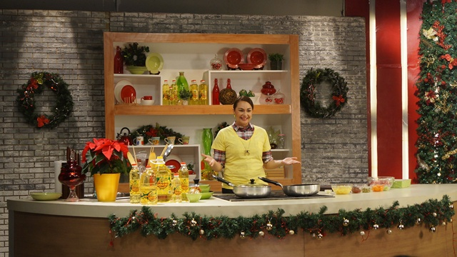 Donita Rose shares heart-healthy recipes in Basta Everyday Happy using Jolly Heart Mate Canola Oil