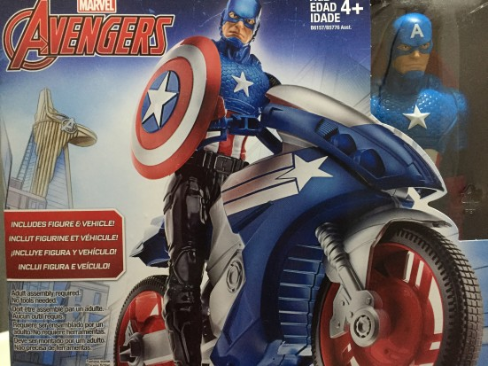 Captain America and Battle Cycle