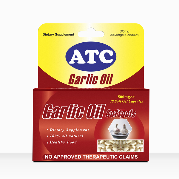ATC Garlic Oil Softgel Capsules