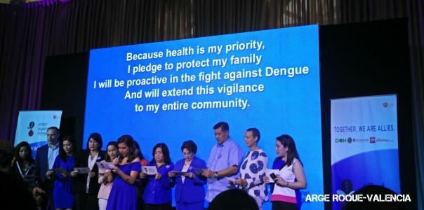 Allied Against Dengue Pledge