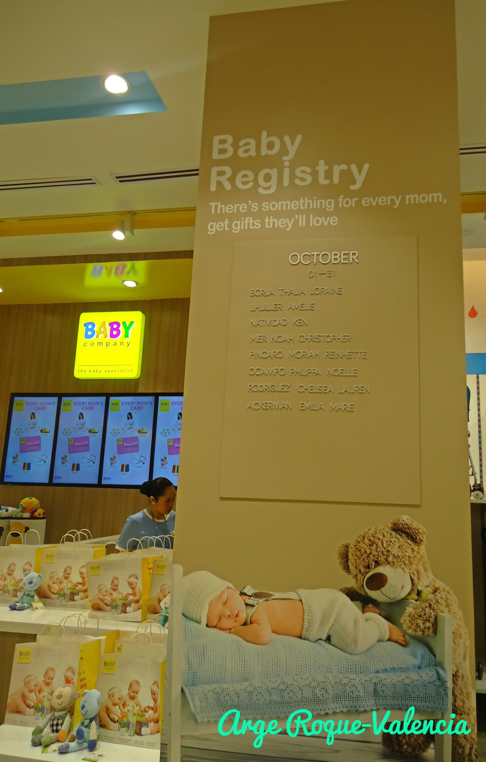 Baby Company - Baby Registry