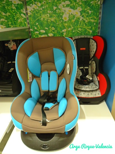 Baby Company - Blue & Gray Car Seat