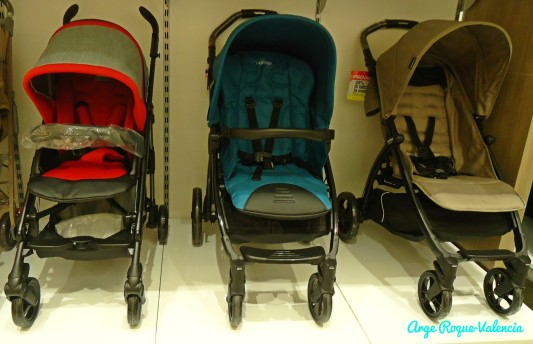 Baby Company - Red Blue and Gray Strollers