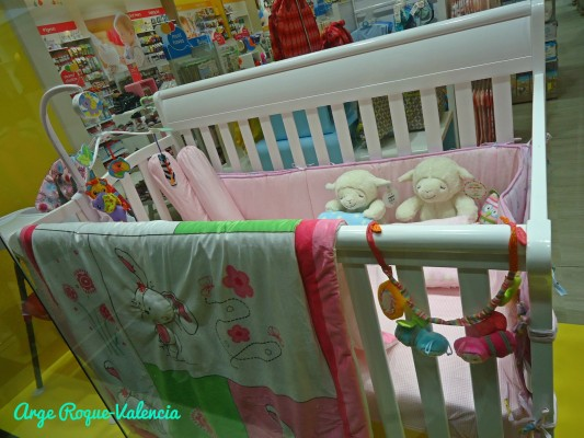 Baby Company - Wooden Crib and Accessories