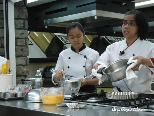 The Maya Kitchen - Preparing the Filling for Egg Tart
