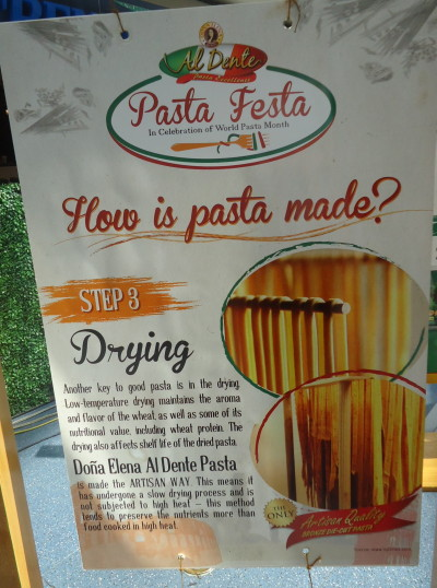 How is pasta made? Step 3