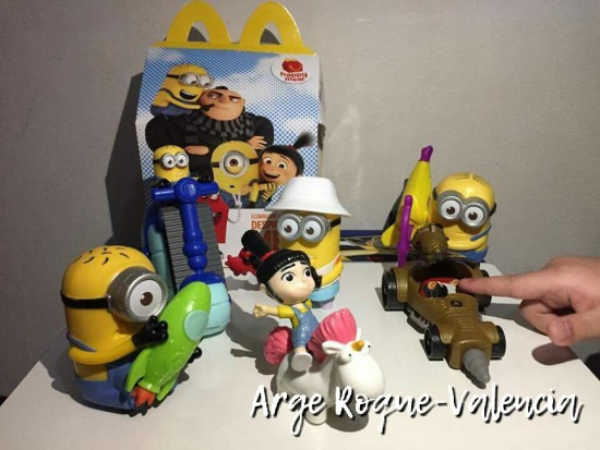 Despicable Me 3 Toys - McDonald's Happy Meal