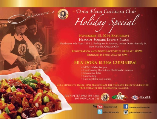 Dona Elena Cuisinera Club