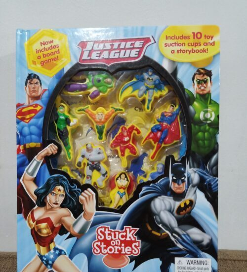 Justice League - Stuck on Stories