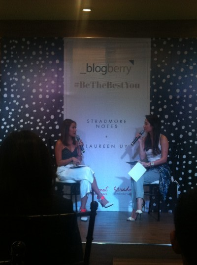 Laureen Uy and Nicole Andersson