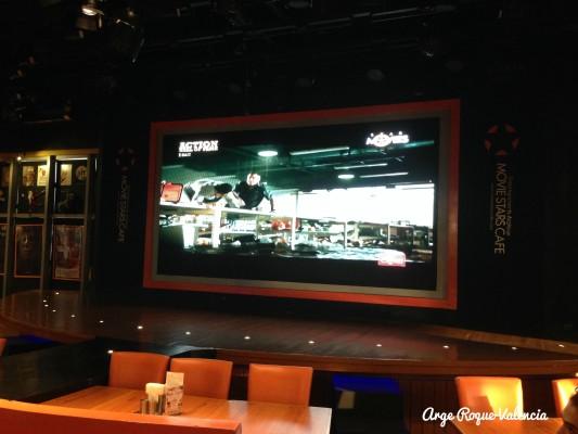 Movie Stars Cafe - Stage