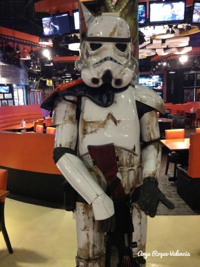 Movie Stars Cafe - Star Wars Stormtrooper
