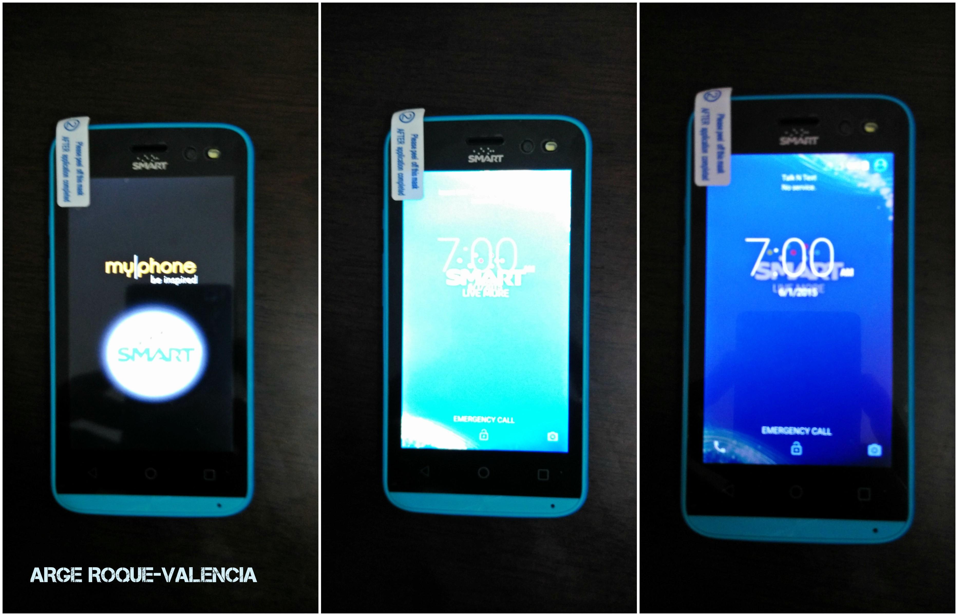 MyPhone28S Start Screen