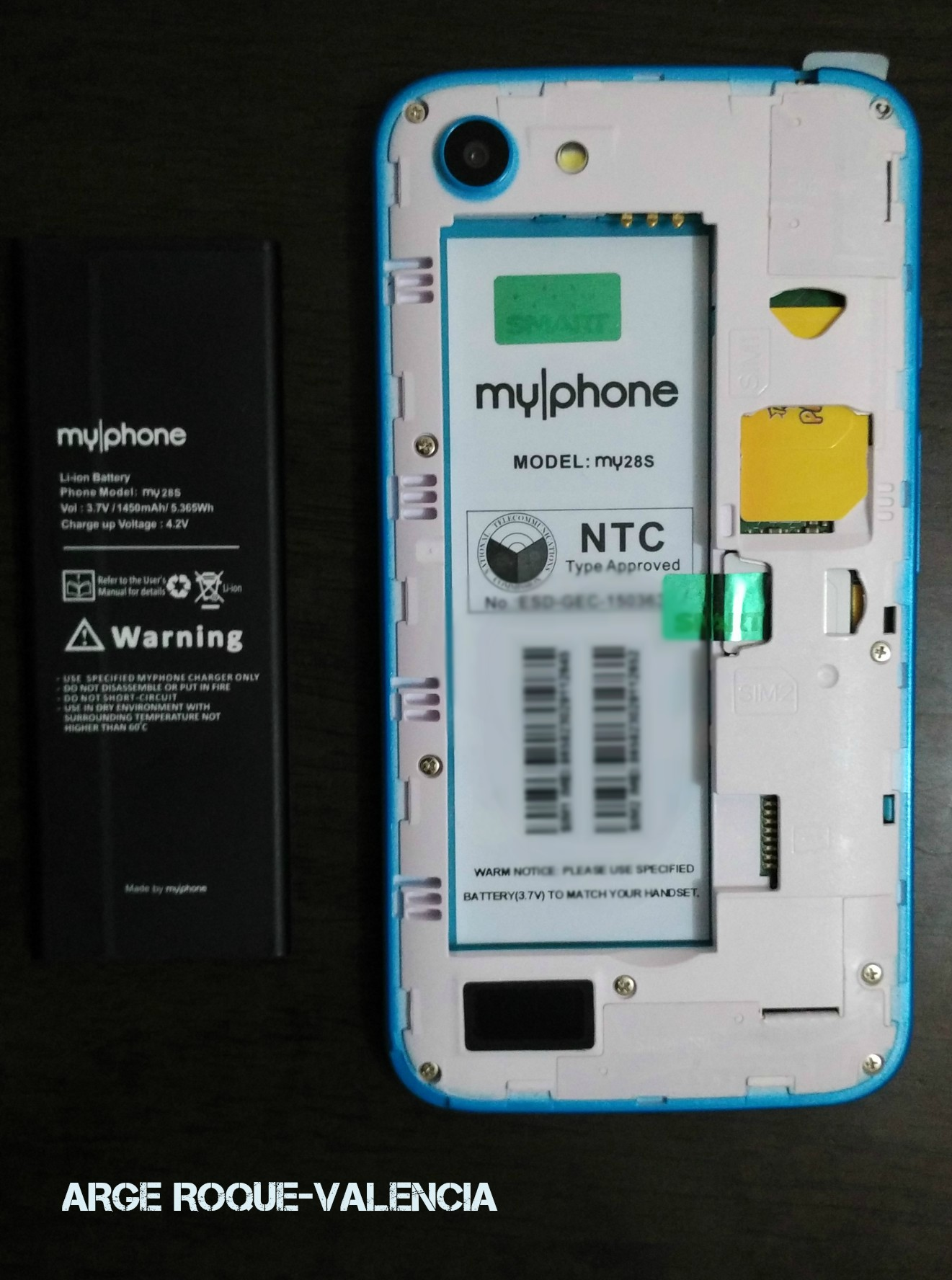 MyPhone my28S BatteryPack