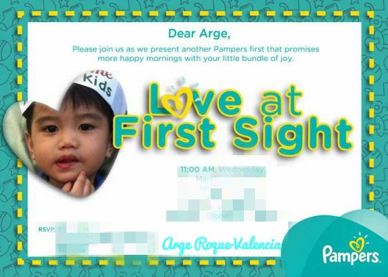 Pampers Invite