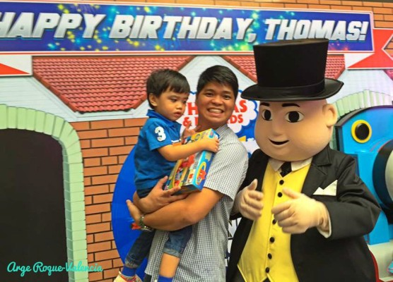 Quick shot with The Fat Controller