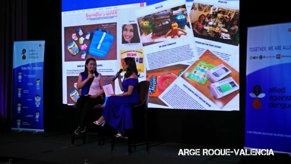 Rowena Wendy Lim Lei and Jolina Magdangal-Escueta