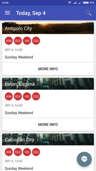 Metro Class Suspensions App - Home