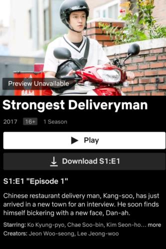 Strongest-Deliveryman on Netflix
