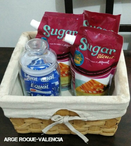 Sugar Blend and Equal Gift Basket