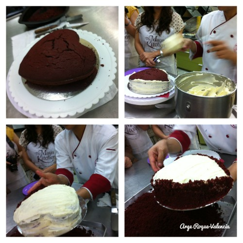 The Maya Kitchen- Frosting the Cake