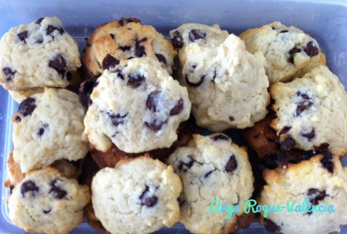 Bite-Size Chocolate Chip Cookies