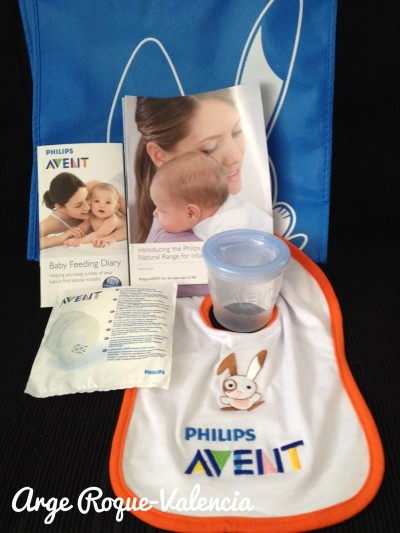 The Avent gift bag