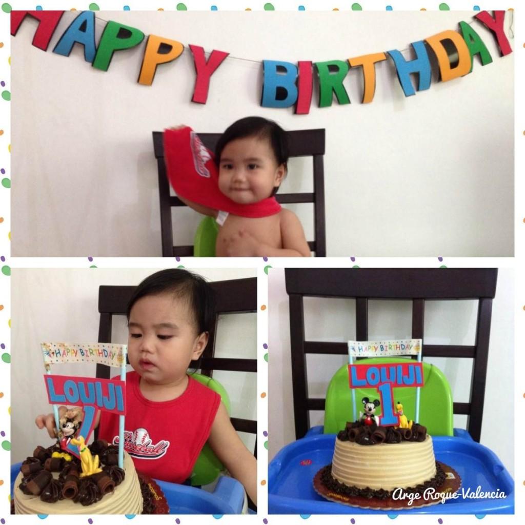 Louiji's 1st Birthday Cake Smash